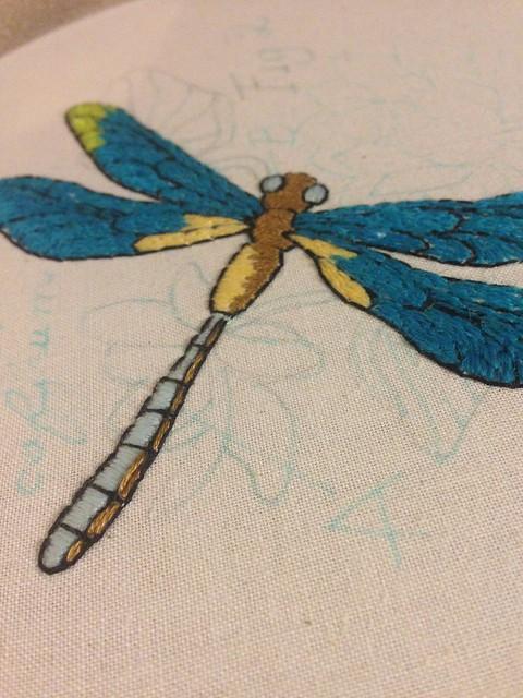 dragonfly @ urban threads WIP