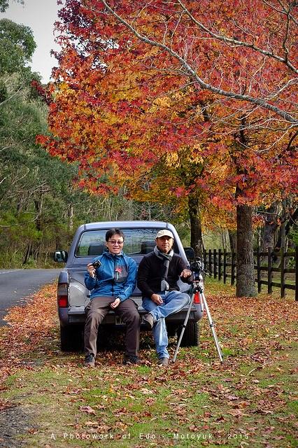 Me & Edward in Mt Wilson Blue Mountain