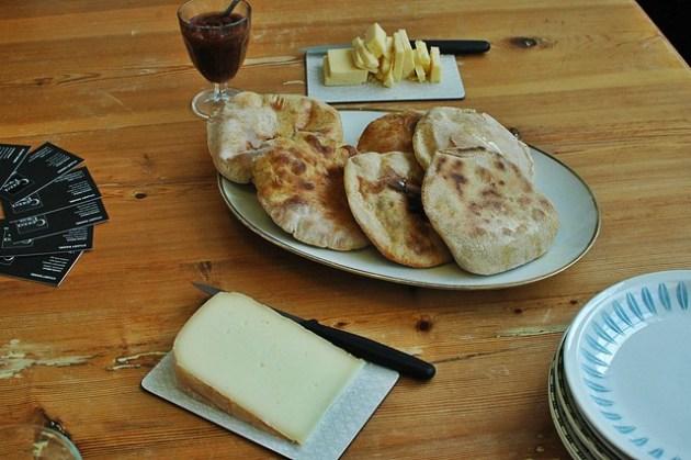 Flatbreads & Cheese