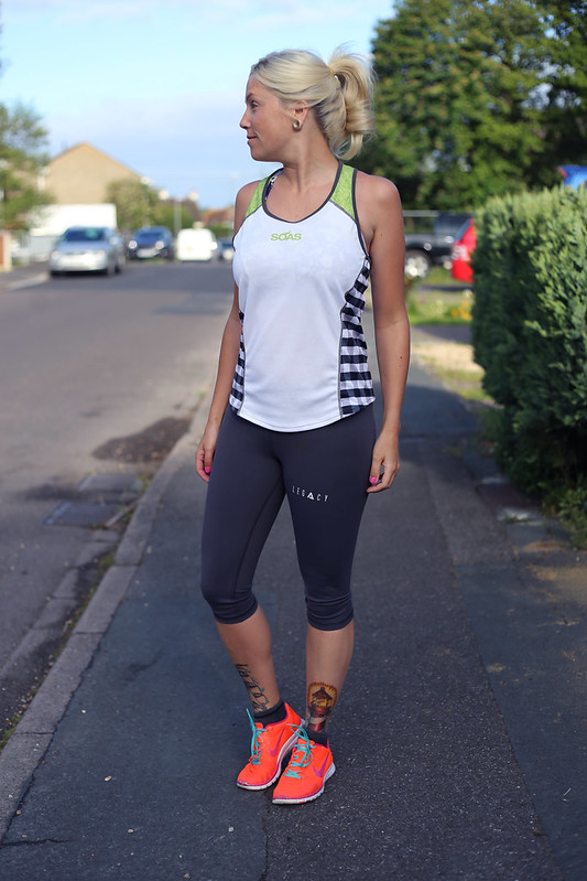 Gym outfit post