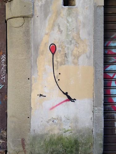 Street art, Florencia. Italia