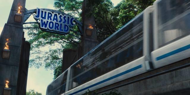 Portao do Jurassic World