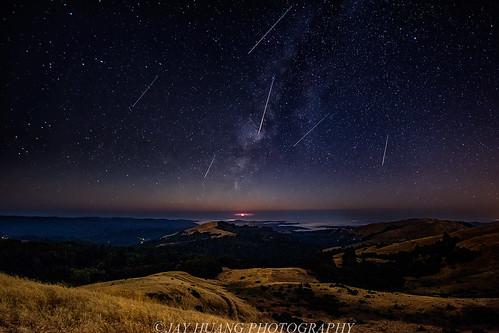Perseid Meteor Shower 2016 Here Is My Version Of Perseid