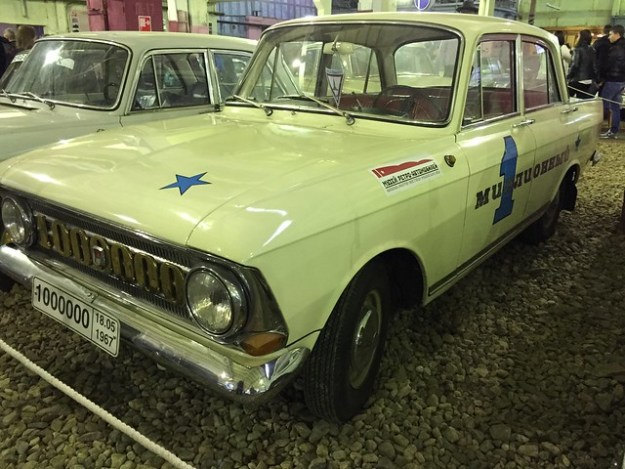 """миллионный """"Москвич"""" 408, 1967"""