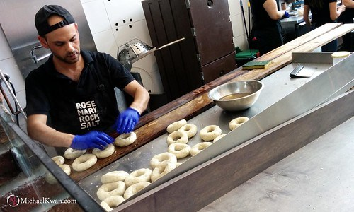 Rosemary Rocksalt Bagel Bakery, Vancouver