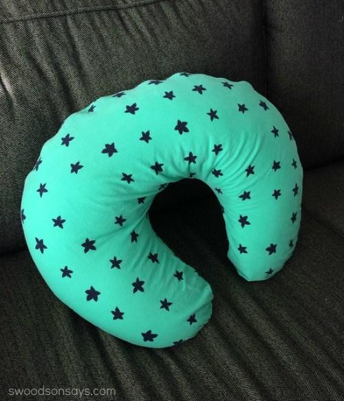 Green boppy cover