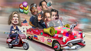 2016 Republican Clown Car is getting full