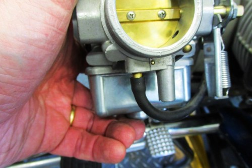 Vacuum Hose on Carburetor