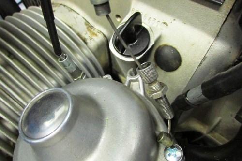 Removing Carburetor Choke Adjuster