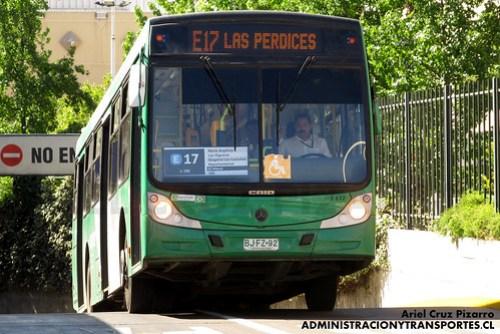 Transantiago - Buses Vule - Caio Mondego H / Mercedes Benz (BJFZ92)