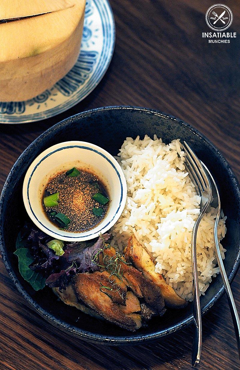 Restaurant Review of Assamm, Sydney CBD. Grilled Chicken on rice, lunch special