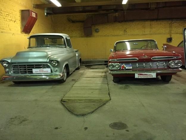 Chevrolet Pickup 1957 & Chevrolet Impala 1959