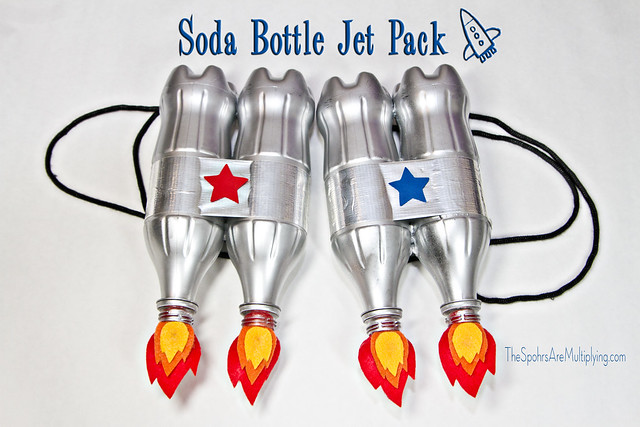 Soda Bottle Jet Pack