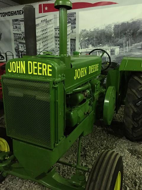 Трактор John Deere модель A 1935-1953