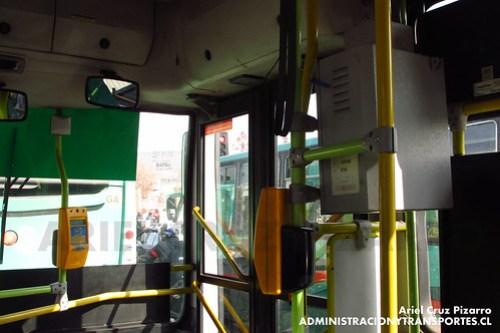 Transantiago (Tecnología) - Buses Vule - Caio Mondego H / Mercedes Benz (BJFS69)