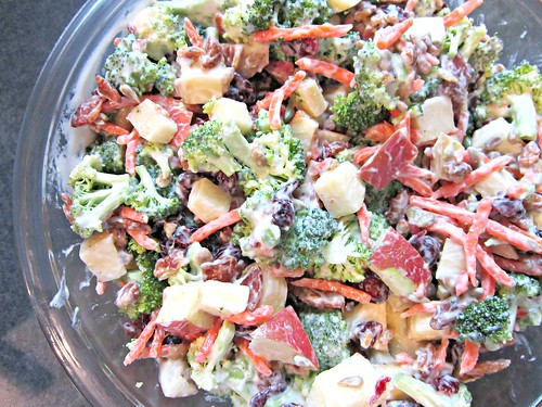 Broccoli & Apple Salad 2
