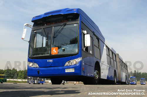 Transantiago - Subus Chile - Caio Mondego LA / Volvo (ZU5656)