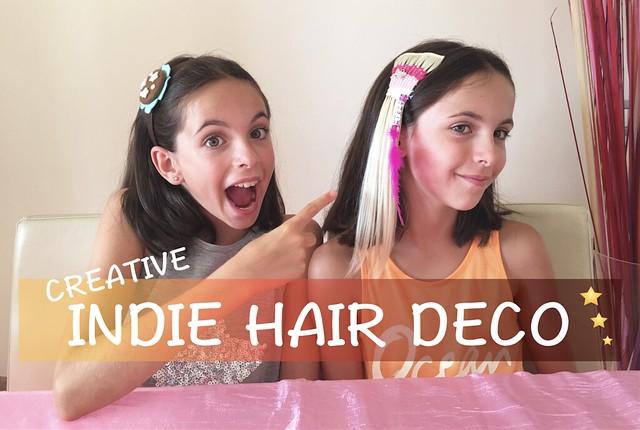 INDIE HAIR DECO: decorazioni per capelli DIY