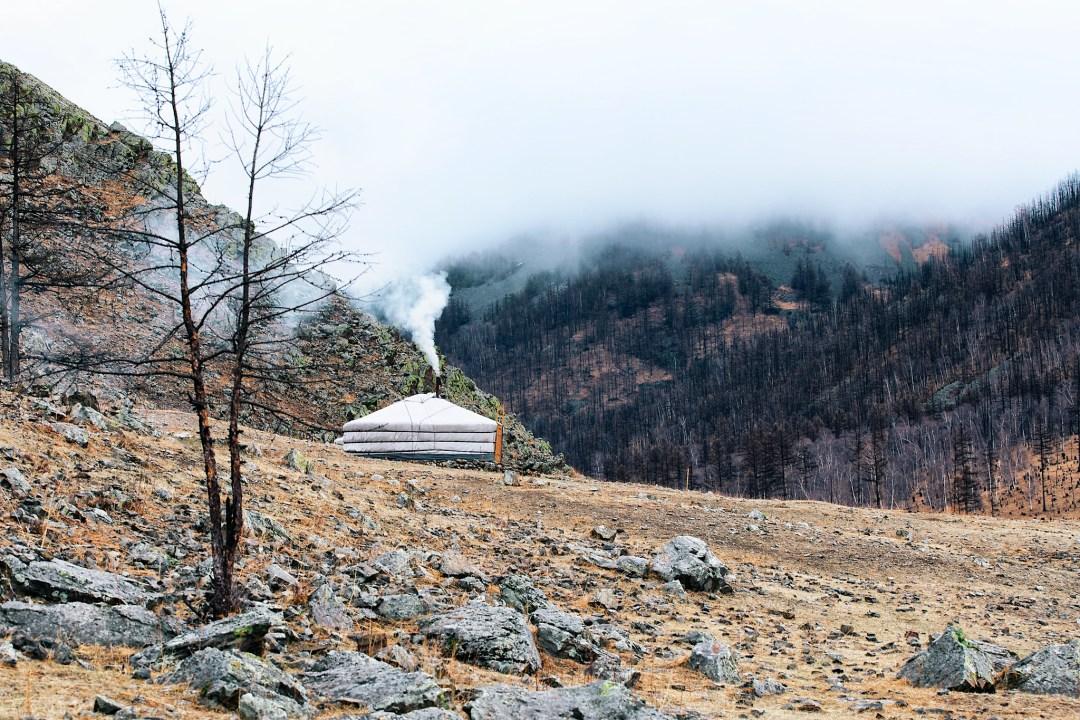 Ger Camp, Mongolia (Ph. James Losey)
