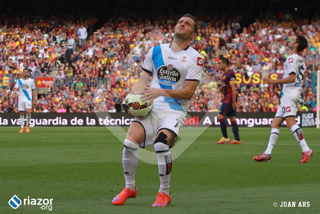 Liga. Jornada 38ª. Barcelona 2 - Deportivo 2