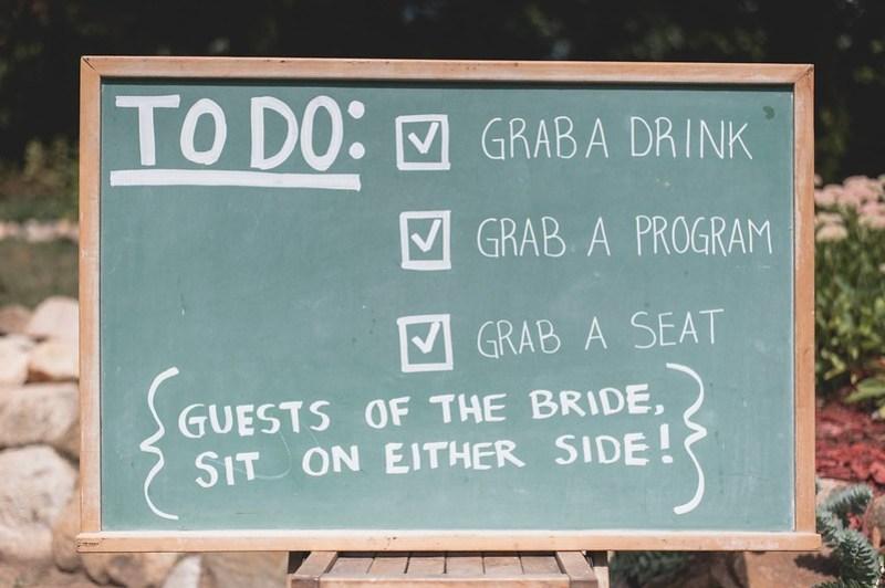 To Do List via @offbeatbride