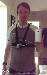 First time with a GoPRO Chest Strap... Feeling a bit like a fool.
