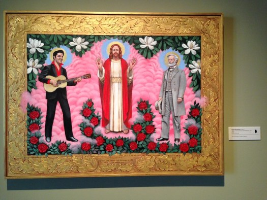 Clyde Broadway -- Trinity: Elvis and Jesus and Robert E. Lee at the Ogden