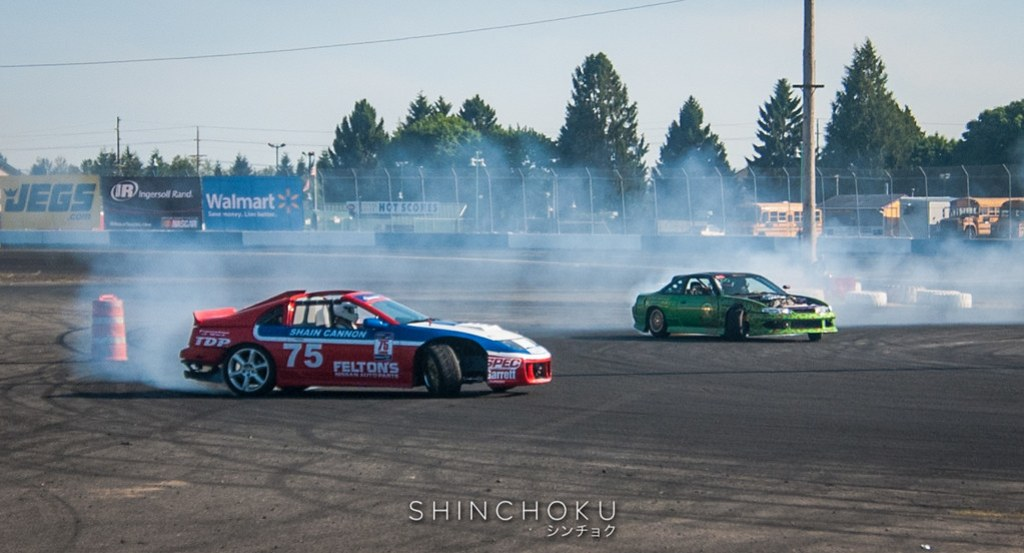 Evergreen Drift - Grassroots Rd. 2 and ProAm Rd. 2