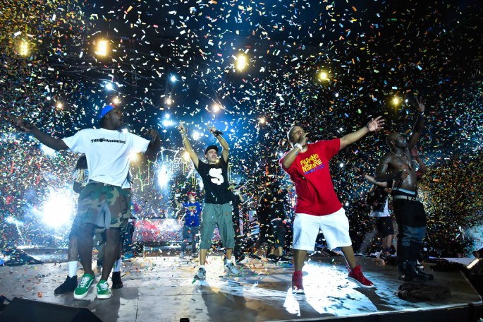 167651-DJ Goofy 500, DJ Cash Money, Vin Rock and Treach of Naughty by Nature at the finale of MTV Music Evolution 2015 on 17 May (Credit - MTV Asia & Kristian Dowling)-2f1ddc-original-1431968156