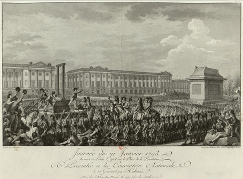 15f04 Concorde Ejecución Luis XVI 24 enero 1793
