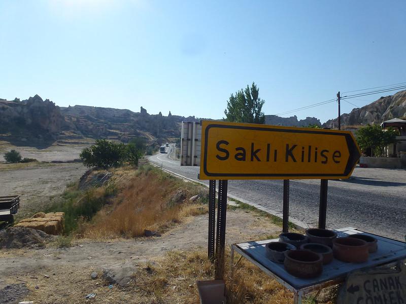 Turquie - jour 22 - Dernier jour en Cappadoce - 028 - Göreme - Saklı Kilise