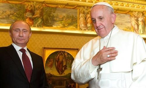 Vladimir Putin se reunirá con el papa Francisco en el Vaticano