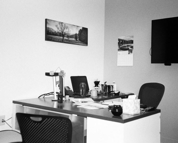 My former desk