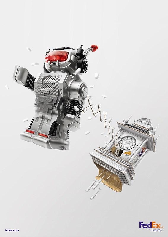 FedEx Express - Cuckoo Robot