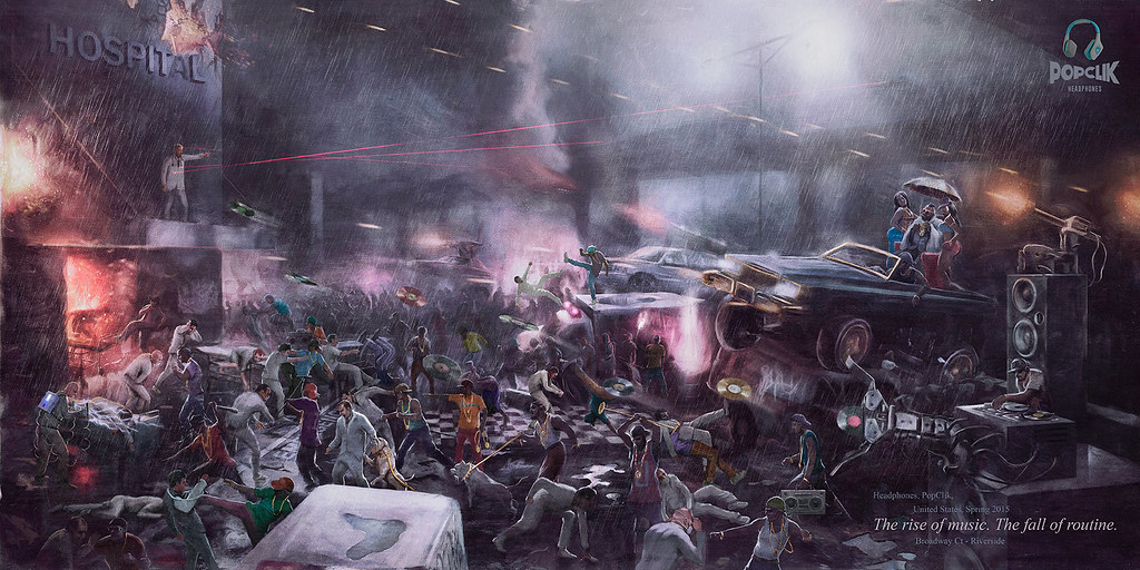 PopClik Headphones - Battle OrchestraPopClik Headphones - Battle HipHop