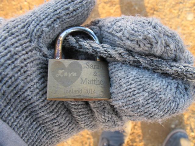 2015.05 Iceland - Lover's Lock