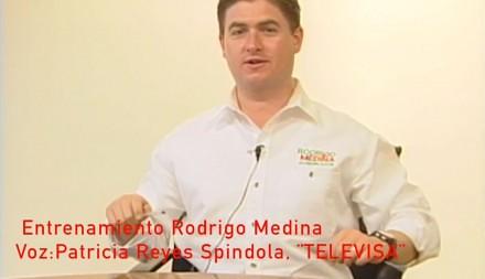 Video exhibe a Rodrigo Medina en clases de actuación en Televisa
