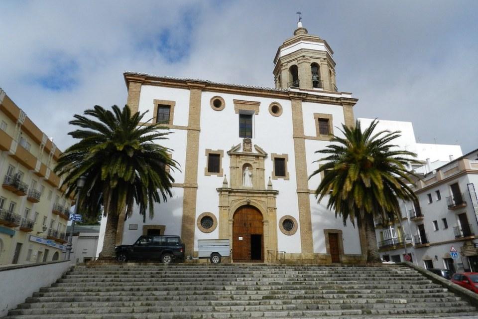 fachada Iglesia y Convento de la Merced Ronda Malaga 02