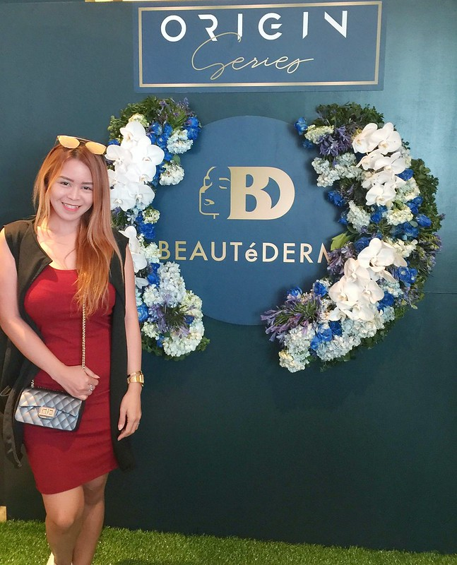 Ayesha Heart at Beautederm the Origin Series Launch