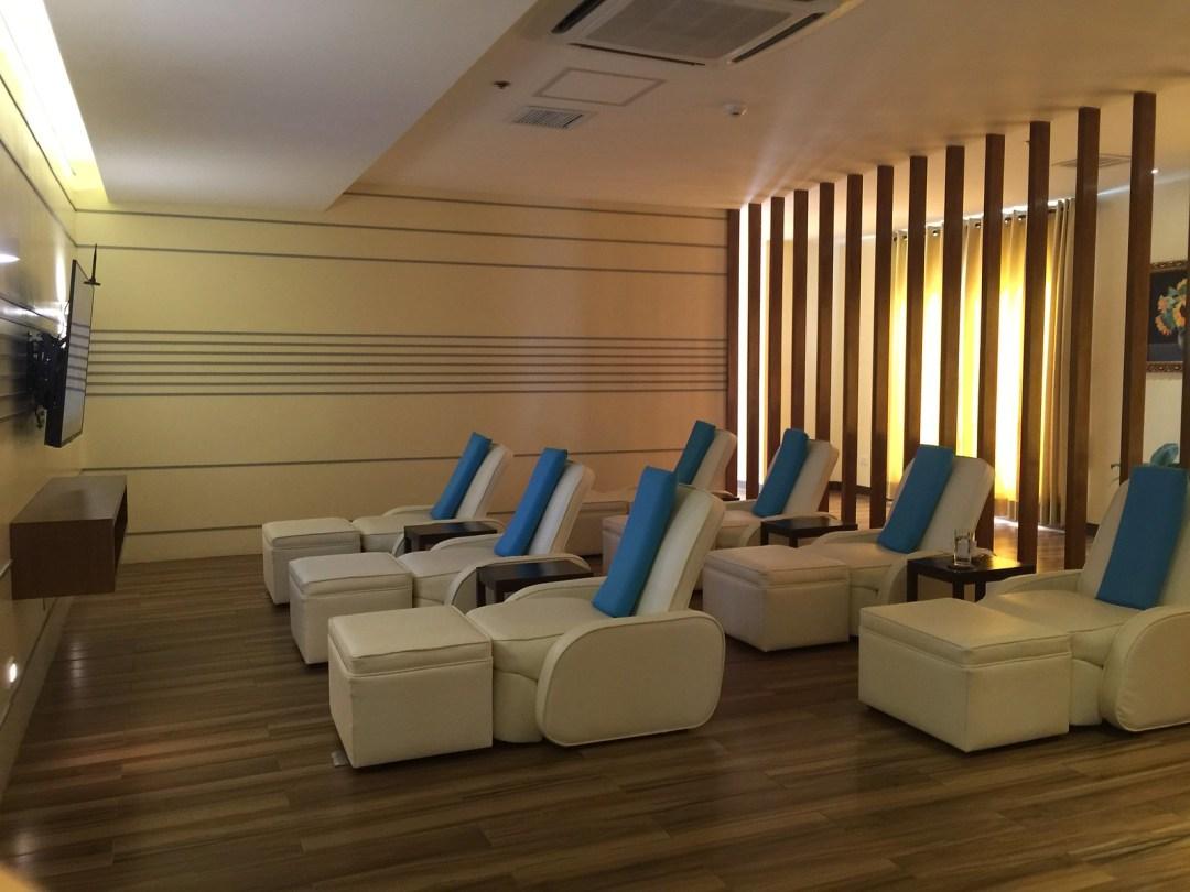 SM Kenko Spa Lounge Area