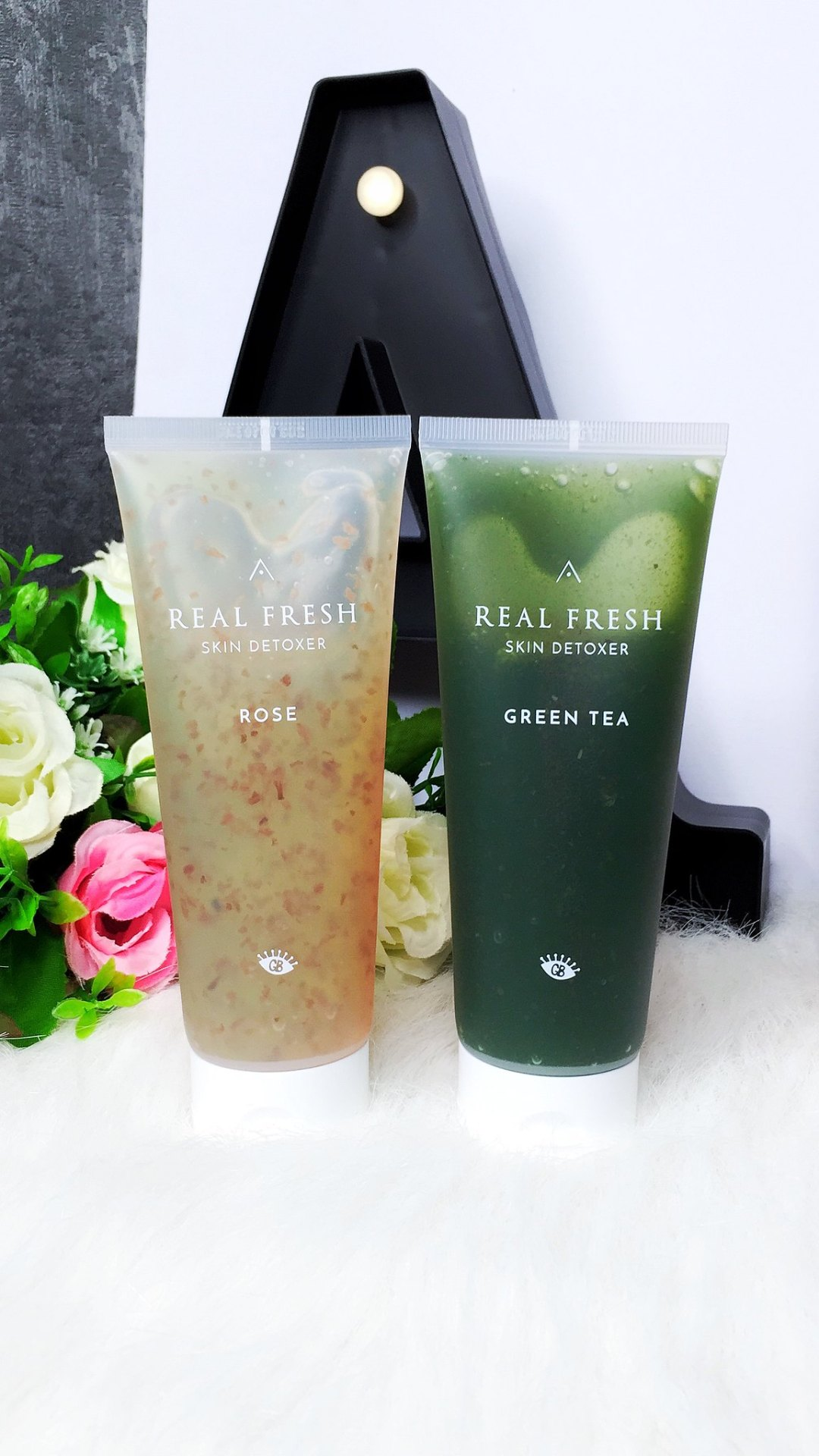 Althea x Get It Beauty Real Fresh Skin Detoxer ROSE & GREEN TEA