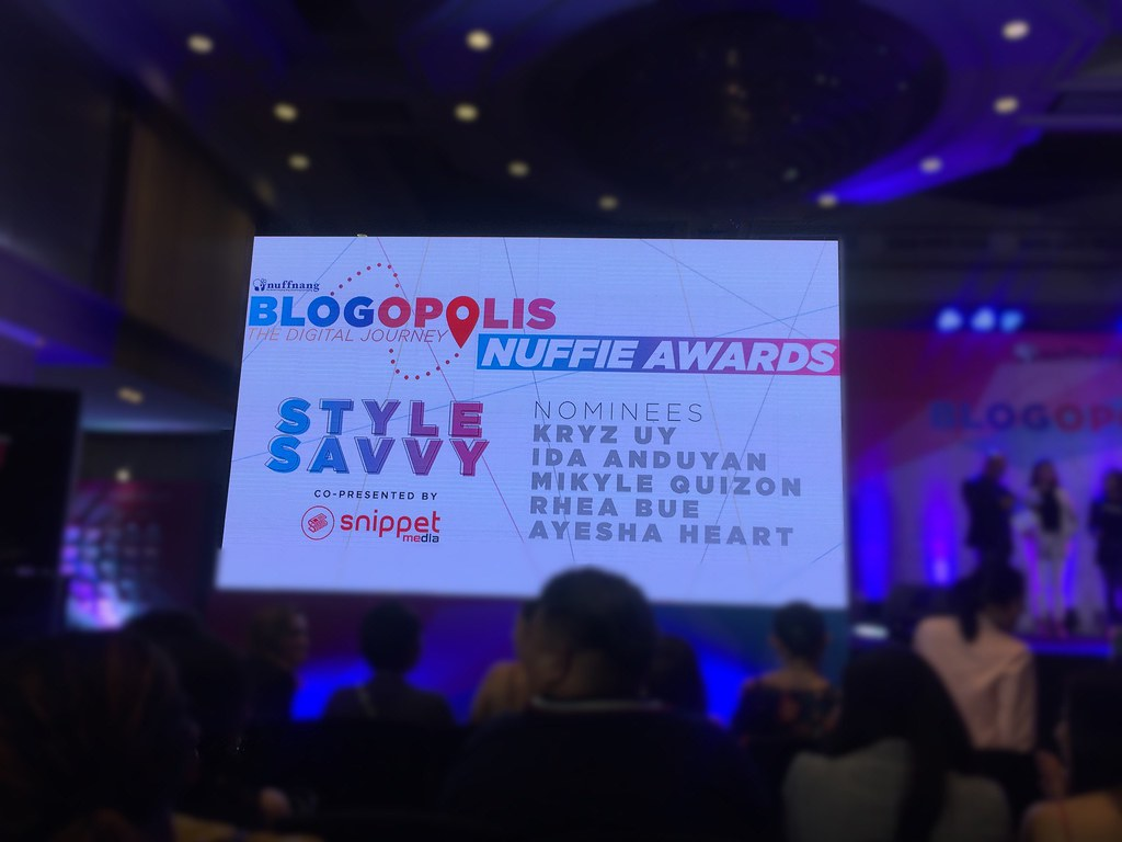 Blogopolis Nuffie Awards Style Savvy of the Year 2018