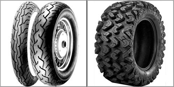 Selecting tires for your motorcycle or ATV