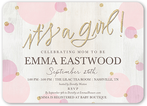 Example Baptismal Invitation