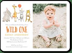 animal birthday invitations tiny