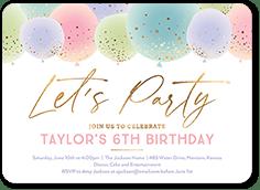 birthday invitations tiny prints page 1