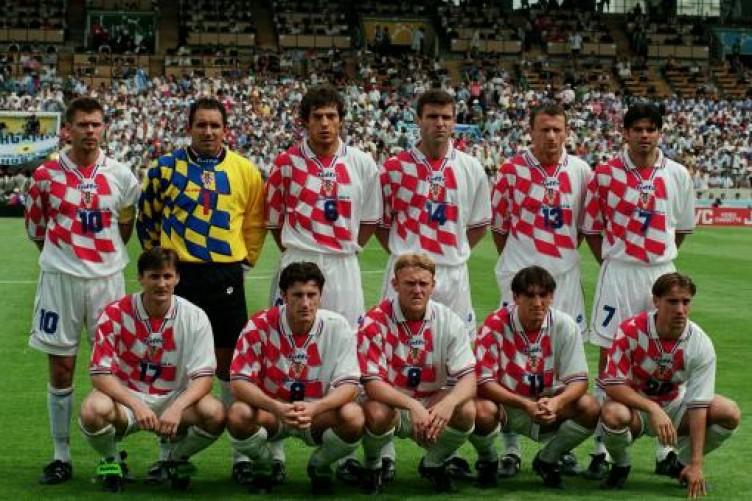 maglia Croazia 1998