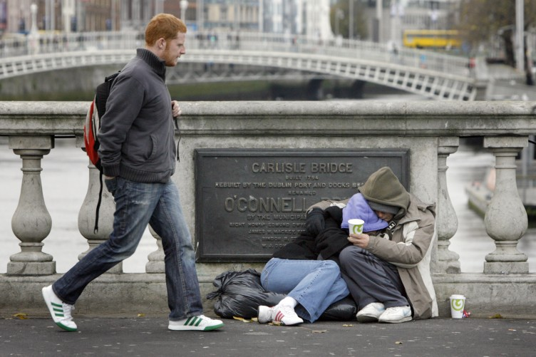 Image result for homelessness in ireland