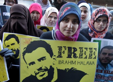 Free Ibrahim Halawa Demonstration.
