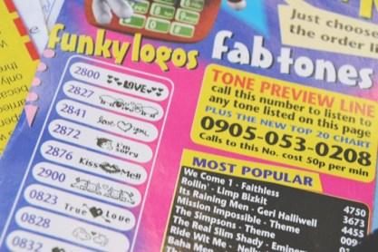 funky tones advert